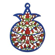 pomegranate wall art rosh hashana gifts jewish holiday gifts