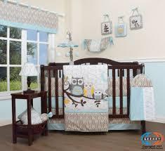 Circo Owl Crib Bedding Enchanted Forest Owl Family Baby Crib Bedding Set 14pcs