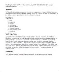 Sap Functional Consultant Resume Sample by Sample Resume For Experienced Sap Basis Consultant Sap Mm 36 Yrs