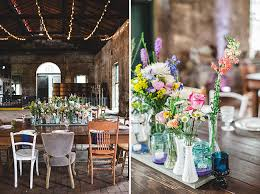 Mismatched Vases Wedding Diy Train Station Wedding Tiffany Sean Green Wedding Shoes