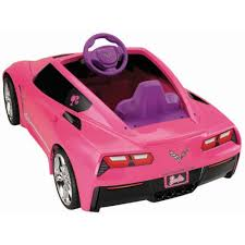 barbie corvette remote control power wheels barbie corvette walmart com
