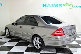 mercedes c230 2004 used mercedes c class c230 at haims motors serving fort