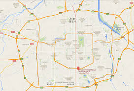 Xi An China Map by Shaanxi History Museum Essence Of Shaanxi History