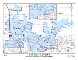House District Map Map Of Iowa House District 67 U2022 Hinson For House
