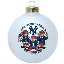 ny yankees ornaments trees 2017