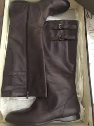 womens brown leather boots size 11 womens enzo angiolini brown leather boots size 11 ebay