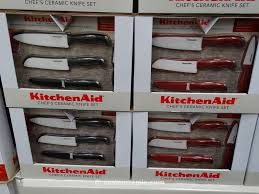 ceramic kitchen knives set kitchenaid 4 piece ceramic knife set with sheaths