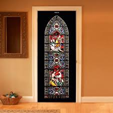 Stained Glass Floor L Style Your Door Trompe L Oeil Stained Glass By Couture Deco Within