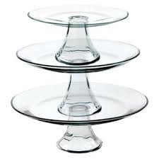 Red Cake Plate Pedestal Cake Stands U0026 Tiered Servers Serveware Kitchen Dining Target