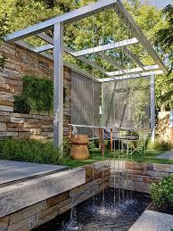 modern water feature houzz