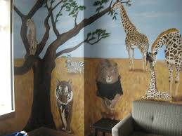 animal safari dorothey ley hospice kymotion kymotion wall dorothey ley hospice safari mural grassland animals