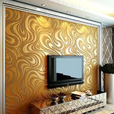 contemporary wallpaper art deco 3d simple style gold brown four