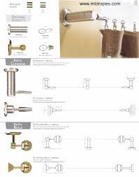 Traverse Curtain Rod Installation Instructions by Cable Rod Wire Rod Sets In Nickel And Brass Easy Install