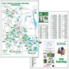 Map Of Daytona Beach Golf Maps Fore Better Golf Inc