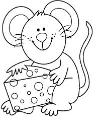 imagenes de ratones faciles para dibujar mouse coloring pages coloring for children pinterest colorear
