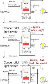 outstanding how to wire cooper 277 pilot light switch as lovable
