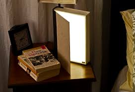 reading light for books clip home lighting book lights usb rechargeable wooden folding led