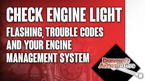Check Engine Light Codes Check Engine Light Flashing Trouble Codes And Your Engine