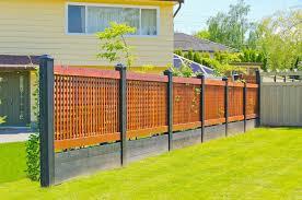 Backyard Fence Ideas Backyard Fence Ideas Type Roof Fence Futons Wonderful