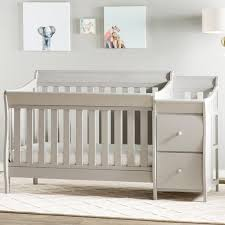 Convertible Crib And Changer Combo 4 In 1 Convertible Crib And Changer Combo