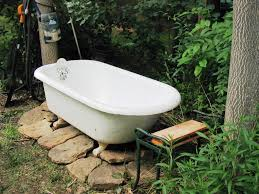 outdoor shower bath tub kitchen bath ideas what you need to outdoor bathtub for sale