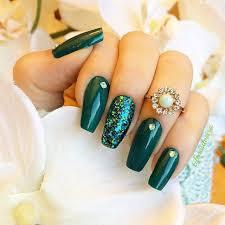 best 25 emerald nails ideas on pinterest metallic nail polish