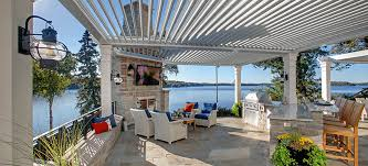 Louvered Patio Roof Adjustable Patio Cover