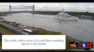 richest woman in uk cruised through cape cod canal in 200m yacht