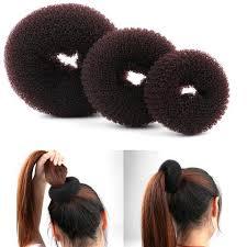 bun accessories 1pc size s m l new fashion women magic shaper donut hair ring