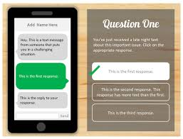 how to create this text message scenario quiz template in powerpoint