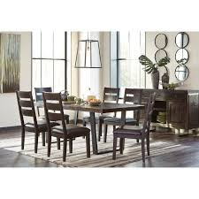 Dining Room Furniture Server Modern Rustic Dining Room Server With Metal Sled Style Metal Legs