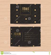 9 99 Business Cards Modern And Clean Design Business Card Template In Golden Abstract
