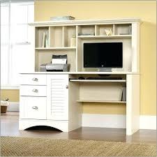 black desk with hutch antique white desk with hutch socielle co