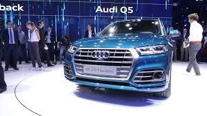 Audi Q5 Blue - 2018 audi q5 vastly improves looks tech offerings