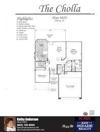 traditions cholla floor plan model home plans floorplans models in