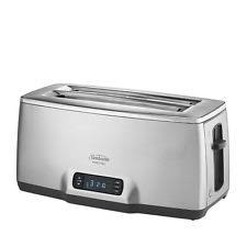 Cuisinart Toaster 4 Slice Stainless Cuisinart Cpt 435 Countdown 4 Slice Stainless Steel Toaster Ebay
