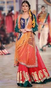 wedding wear dresses mehndi dresses 2017 royal blue orange lehenga
