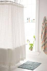 Curtains With Pom Poms Decor Plum Bow Pompom Shower Curtain Pom Pom Decor Popsugar