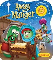 away in a manger a veggietales book 9780824918828