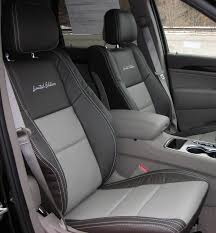 jeep grand cherokee interior seating limited edition custom automotive leather seats jeep grand