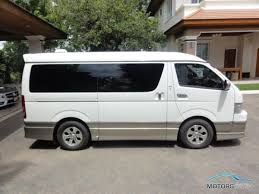 toyota hiace vip toyota ventury 2008 motors co th