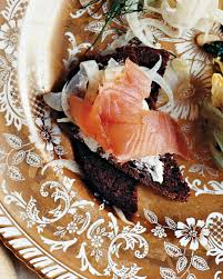 sublime smoked salmon appetizers for your next soiree martha stewart