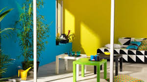 chambre jaune et bleu stunning peinture chambre jaune moutarde gallery amazing house