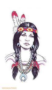 pretty drawing of indian woman native american pinterest