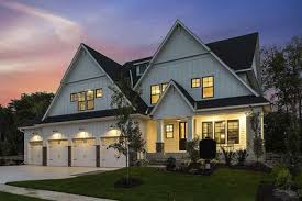 4 car garage exclusive house plan with 4 car garage and sport court 73372hs