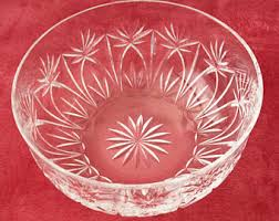 Atlantis Crystal Vase Vintage Atlantis Crystal Etsy