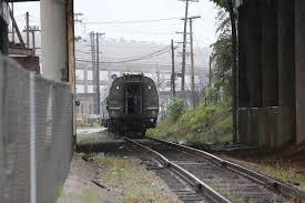 halloween city roanoke va amtrak test train rumbles into downtown roanoke business