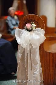 wedding pew bows 211 best wedding pew bows images on wedding stuff