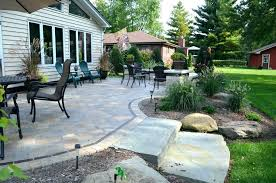 Backyard Patio Pavers Paver Backyard Patio Designandcode Club