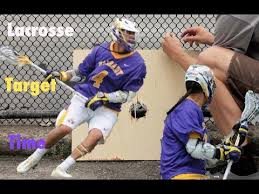 diy lacrosse goal lacrosse training how to make a thompson target youtube